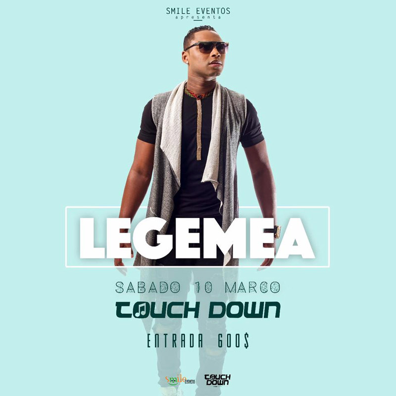 Lejemea ao vivo no Touch Down Night Club
