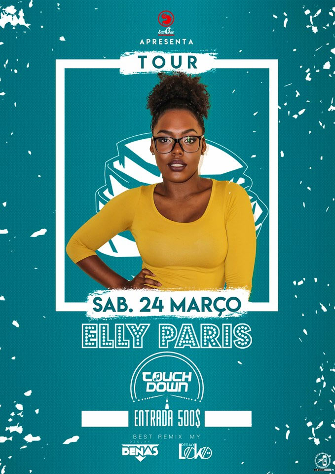 Elly Paris canta no Touch Down Night Club