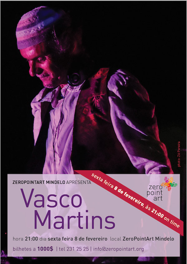Vasco Martins atua na Zero Point Art